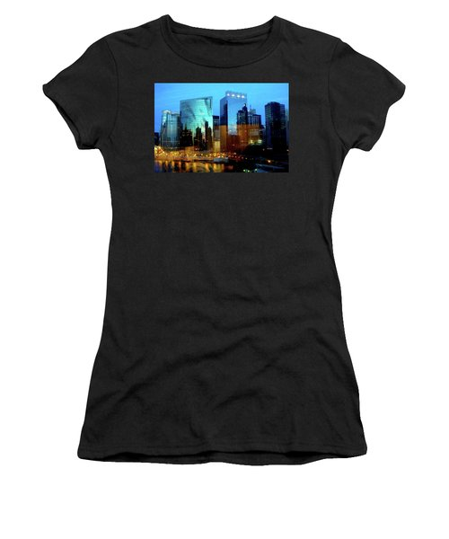 Reflections On The Canal Women's T-Shirt