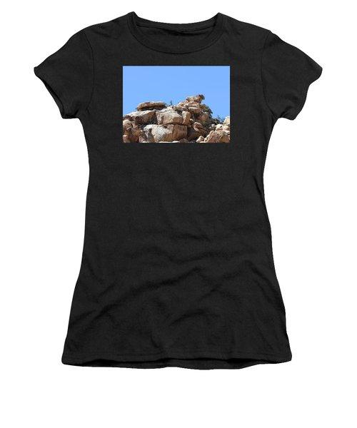 Bull From Joshua Tree Women's T-Shirt (Athletic Fit)