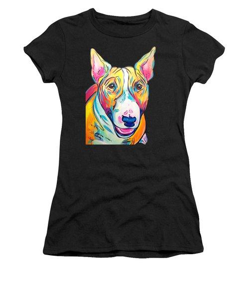 Bull Terrier Women's T-Shirt (Athletic Fit)