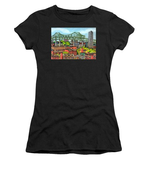 Bunkerhill And Tobin Women's T-Shirt (Athletic Fit)