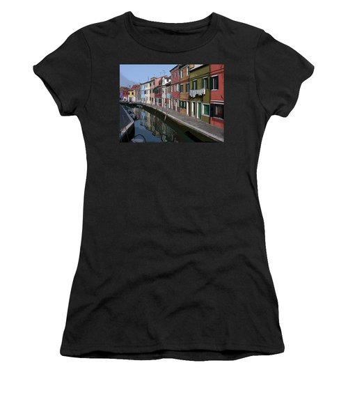 Burano Women's T-Shirt (Athletic Fit)