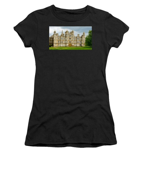 Burghley House Women's T-Shirt (Athletic Fit)