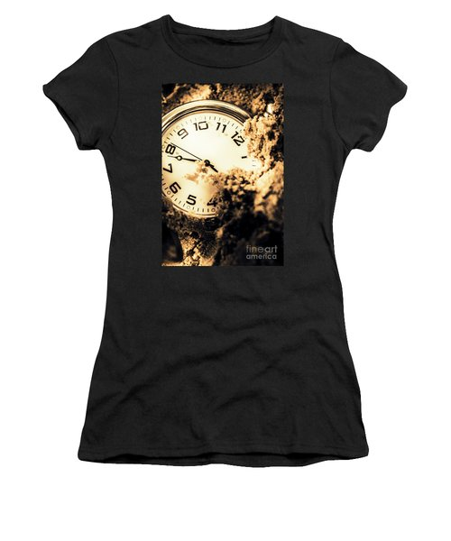 Buried By The Hands Of Time Women's T-Shirt