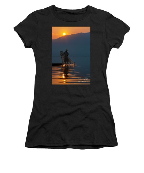 Burma_d143 Women's T-Shirt (Athletic Fit)