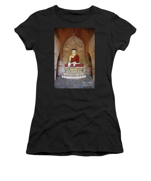 Burma_d2078 Women's T-Shirt (Athletic Fit)