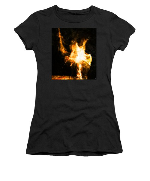 Burning Man Women's T-Shirt (Athletic Fit)
