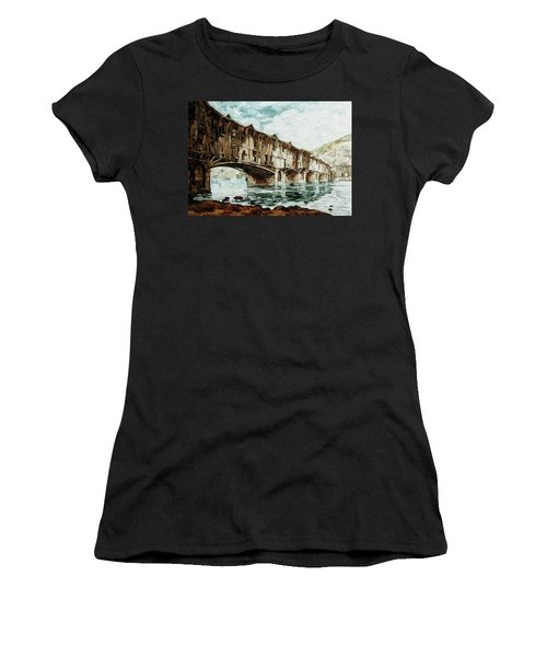 Burnt Covered Bridge Women's T-Shirt
