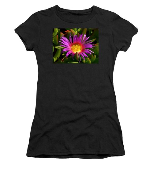 Women's T-Shirt (Junior Cut) featuring the photograph Burst Of Beauty by Debbie Karnes
