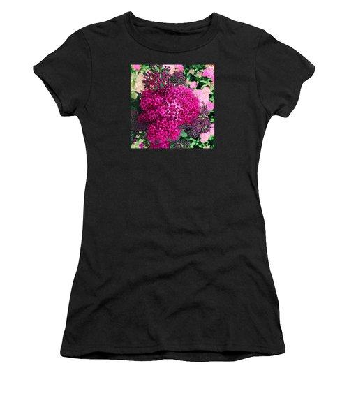 Burst Of Pink Delight Women's T-Shirt