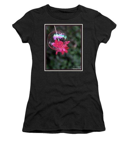 Bursting Free Women's T-Shirt (Athletic Fit)