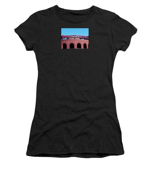 Busch Stadium Ball Park Women's T-Shirt (Athletic Fit)