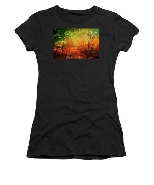 Bush Fire Women's T-Shirt