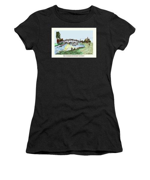 Busy Richmond Bridge Women's T-Shirt (Athletic Fit)