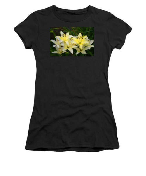 Women's T-Shirt (Junior Cut) featuring the photograph Buttercreams by Kathryn Meyer