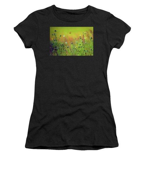 Butterflies - Wildflowers Women's T-Shirt