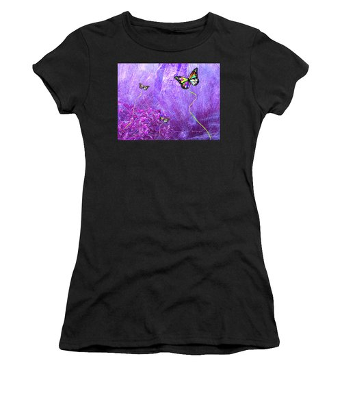 Butterfly Fantasy Women's T-Shirt (Athletic Fit)