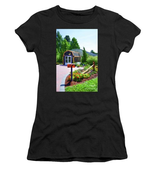 Butterfly House 1 Women's T-Shirt (Athletic Fit)