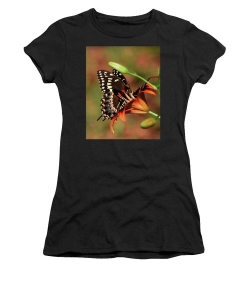 Butterfly Kiss 2 Women's T-Shirt (Athletic Fit)