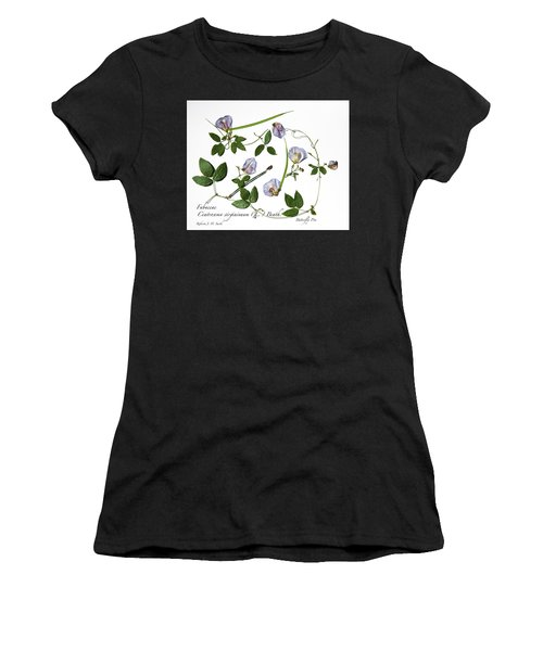 Butterfly Pea Women's T-Shirt (Athletic Fit)
