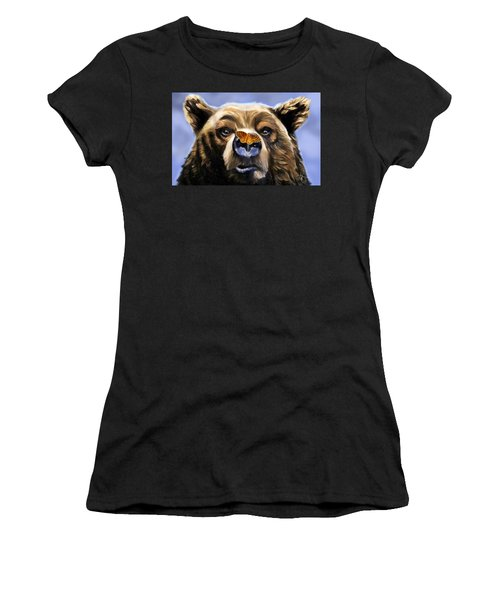 Butterfly Surprise Women's T-Shirt (Athletic Fit)