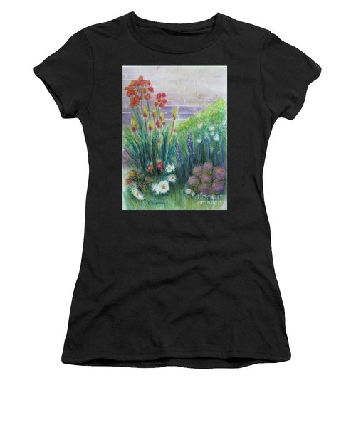 By The Garden Wall Women's T-Shirt (Athletic Fit)