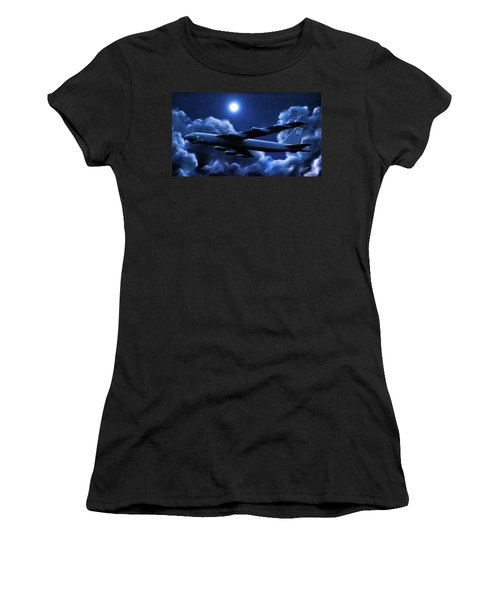 By The Light Of The Blue Moon Women's T-Shirt (Athletic Fit)