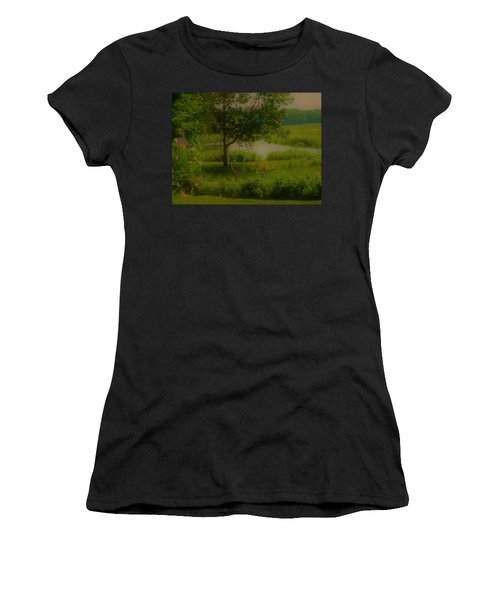By The Little River Women's T-Shirt (Athletic Fit)