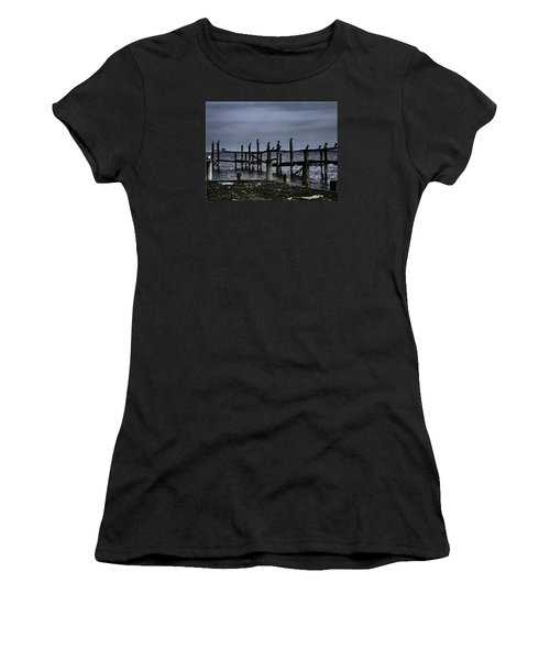 By The Sea Women's T-Shirt (Junior Cut) by Mikki Cucuzzo