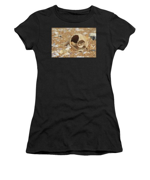 By The Sea Shore Women's T-Shirt (Athletic Fit)