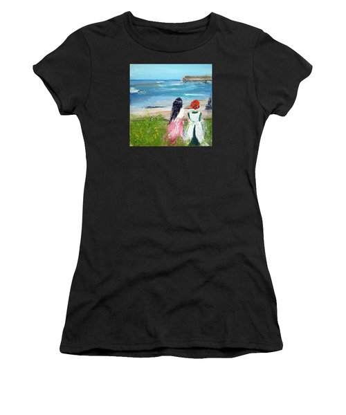 By The Shores By Colleen Ranney Women's T-Shirt (Athletic Fit)