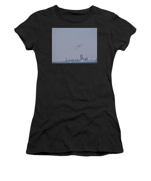 C130 Over Buffalo Women's T-Shirt