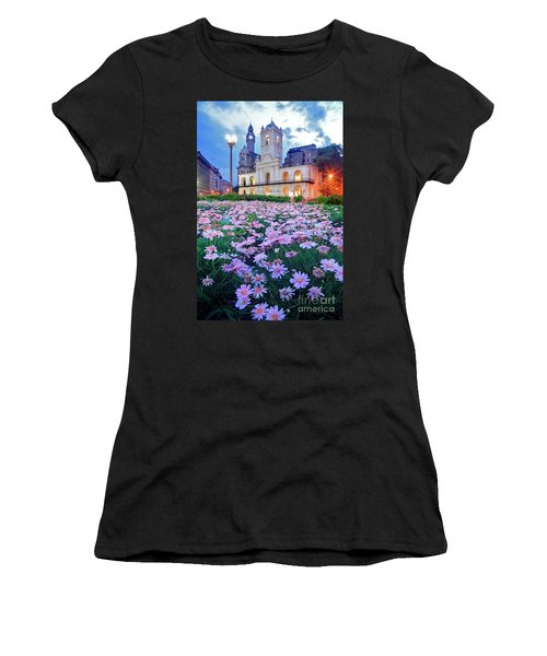 Cabildo De Buenos Aires Women's T-Shirt (Athletic Fit)