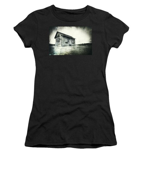 Cabin Near Paradise Springs - Kettle Moraine State Forest Women's T-Shirt (Junior Cut) by Jennifer Rondinelli Reilly - Fine Art Photography