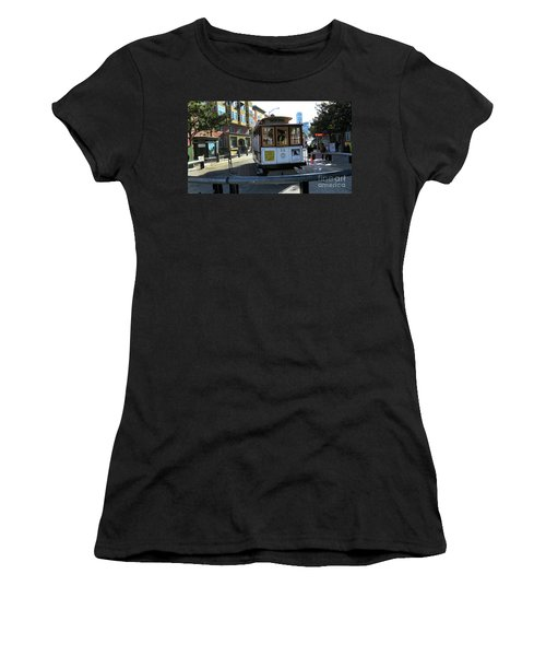 Cable Car Turnaround Women's T-Shirt