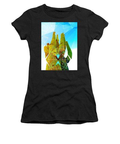Cacti Embrace Women's T-Shirt