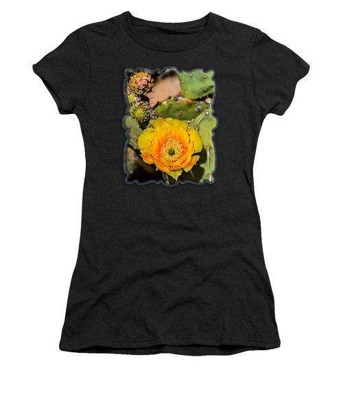 Cactus Flower V46 Women's T-Shirt