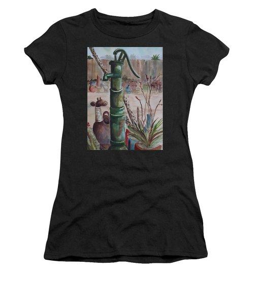 Cactus Joes' Pump Women's T-Shirt (Athletic Fit)