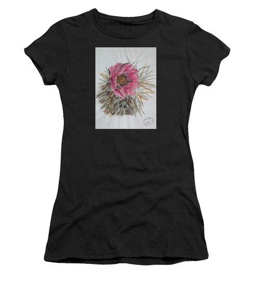 Cactus Joy Women's T-Shirt (Athletic Fit)