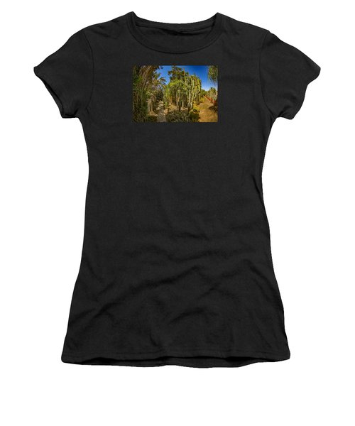 Cactus Jungle Women's T-Shirt (Athletic Fit)