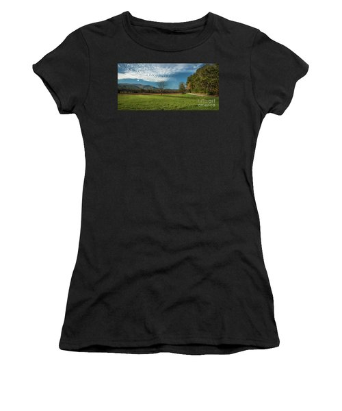 Cades Cove Tennessee Women's T-Shirt (Athletic Fit)