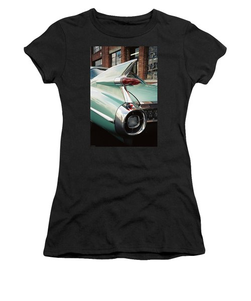 Cadillac Fins Women's T-Shirt (Athletic Fit)