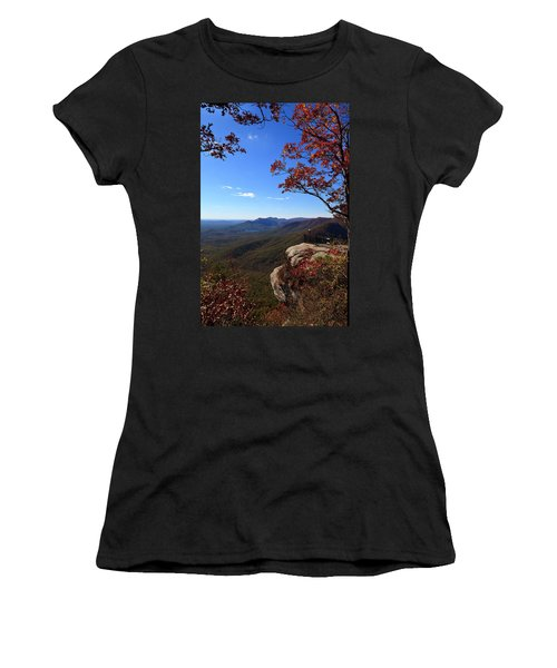 Caesars Head State Park In Upstate South Carolina Women's T-Shirt (Athletic Fit)