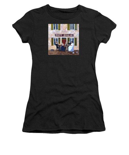 Cafe Boulud Women's T-Shirt (Athletic Fit)