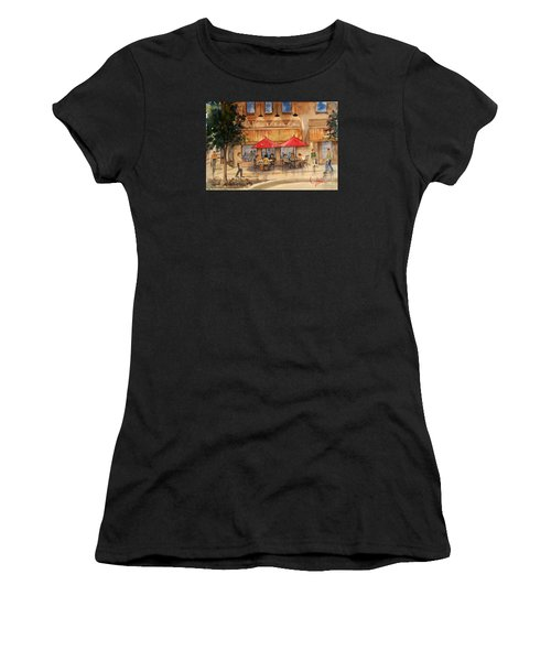 Cafe Chocolate Women's T-Shirt (Athletic Fit)