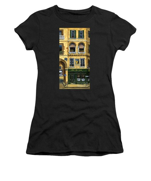 Cafe Van Gogh Paris Women's T-Shirt