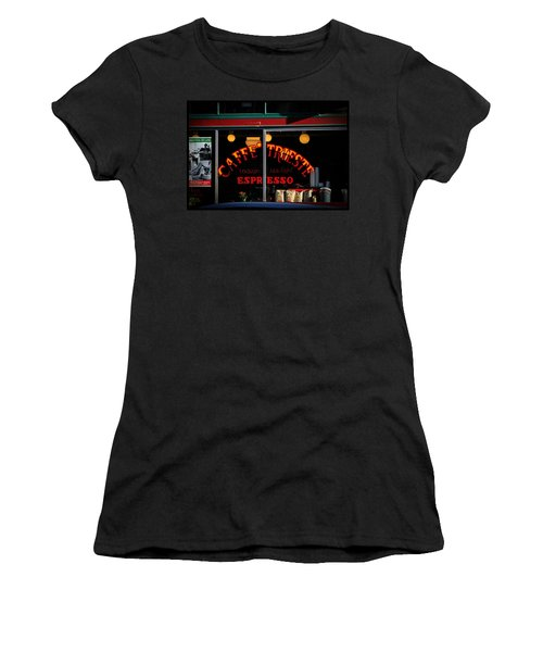 Caffe Trieste Espresso Window Women's T-Shirt