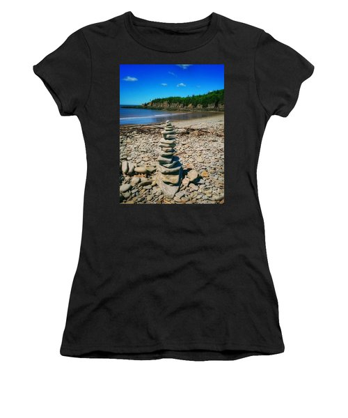 Cairn In Eastern Canada Women's T-Shirt (Athletic Fit)