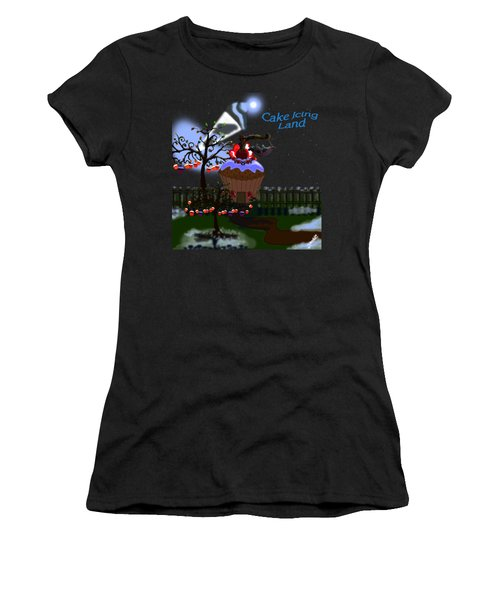 Cake Icing Land Women's T-Shirt