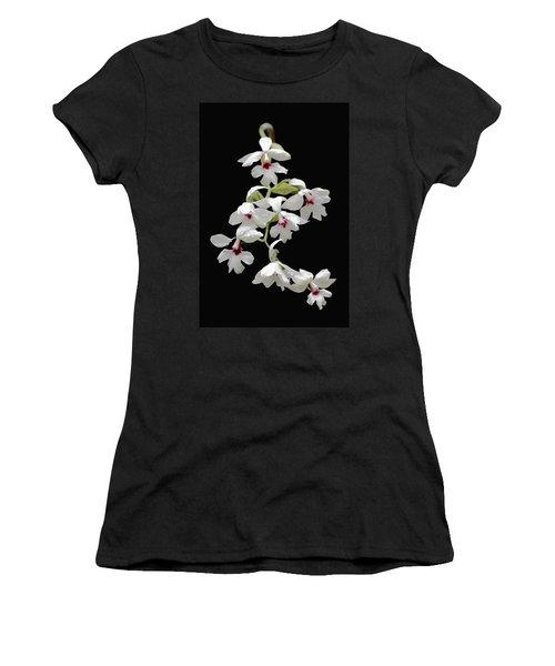 Calanthe Vestita Orchid Women's T-Shirt