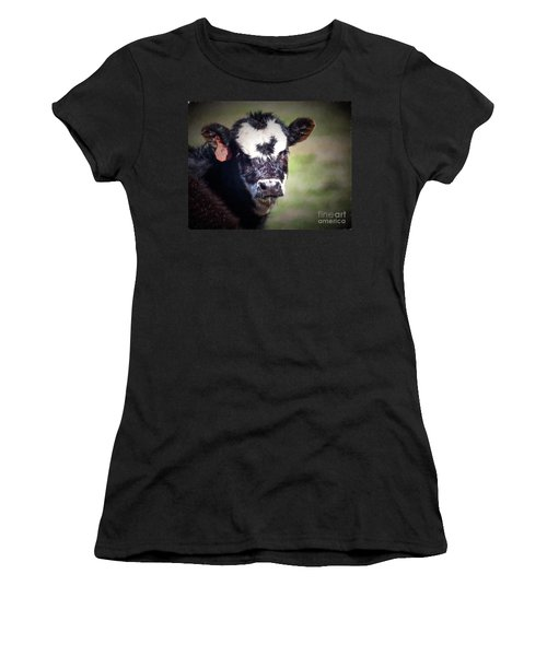 Calf Number 444 Women's T-Shirt (Athletic Fit)